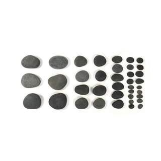 Hot Stone basaltsten - 38 stk.