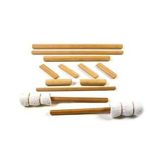 Bambus pinde - stort sæt med 12 stk fra Vulsinit