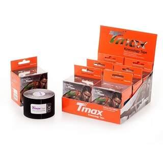 Tmax Kinesiologi Tape PRECUT - Sort 20 stk. 5x25cm